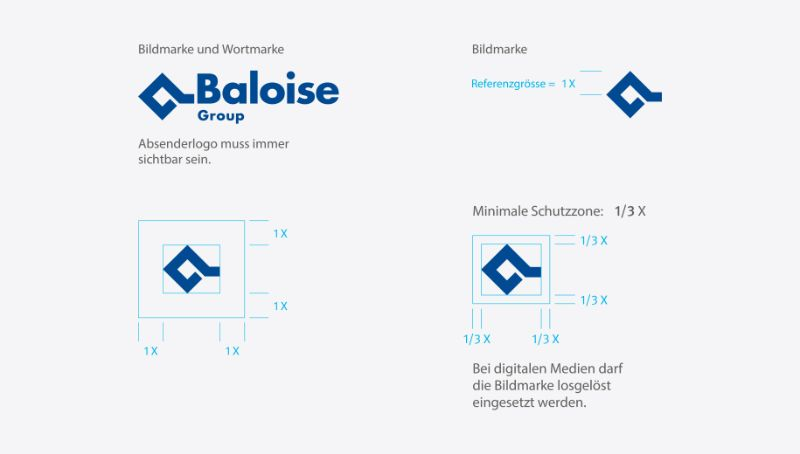 dimensions of the Baloise logo